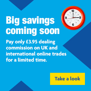 Look out for our trading commission offer periods